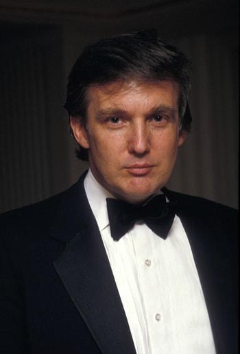 фото Дональд Трамп в молодости