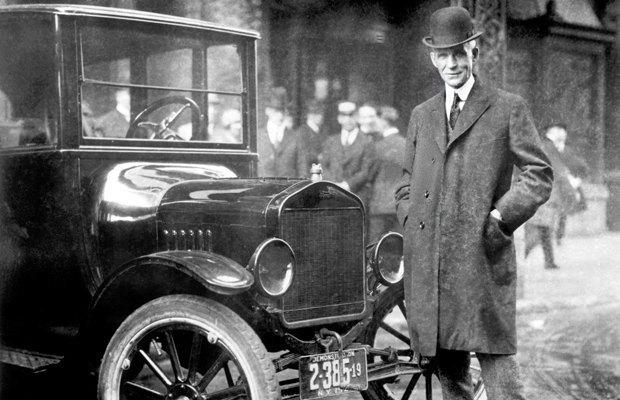 фото Генри Форд и автомобиль